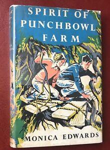 Monica Edwards Spirit of Punchbowl Farm First Edition 1952 Hardback Dust Jacket
