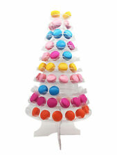 10 Tier Macaron Cake Tower Stand Display Rack Plastic For Weddin Birth New Style
