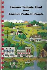 PENFIELD NY 2004 FAMOUS TAILGATE FOOD COOK BOOK * HIGH SCHOOL PATRIOTS *NEW YORK