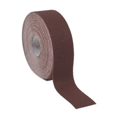 ERB505080 Sealey Emery Roll Brown 50mmx50mtr 80Grit [Emery Papers] [Consumables]