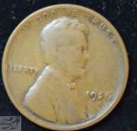 1926 S Lincoln Wheat Cent, Penny, Very Good Condition, Free Shipping, C4787
