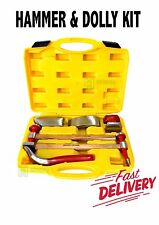HAMMER DOLLY SET 6 PIECE PANEL BEATING KIT HICKORY HANDLES