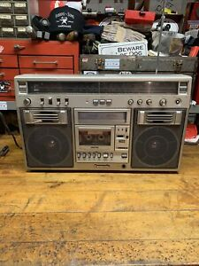 Vintage Panasonic RX-5600LS Stereo Boombox Retro Cassette Player As Is Working