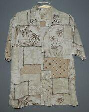 Men's Kona Kai SS Hawaiian Tropical Button Shirt-M/Medium-Silk & Cotton