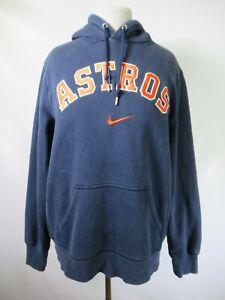 G4756 NIKE Houston Astros MLB-Baseball Hood Pull-Over Sweater Size L