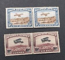 SOUTH WEST AFRICA 1931 3d 10d SG 86 87 Sc C5 C6 MH