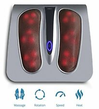 Miko Shiatsu Home Foot Massager Kneading and Rolling Massage With Heat Therapy