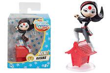 """KATANA mini-figure in vinile - statuetta da collezione """"Mattel"""" - 7 cm"""