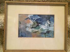 california abstract mid century