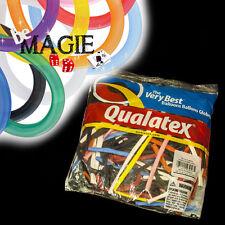 100 Ballons Qualatex TRADITIONNEL 260Q - Magie - sac sculpture sur ballon