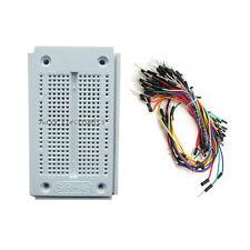 New 270 Point Solderless PCB Bread Board & 65pcs Jumper Wire