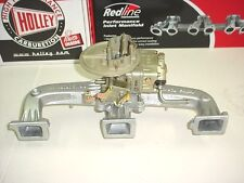 BRAND NEW HOLDEN 6 CYLINDER INTAKE PACKAGE 350 HOLLEY 7448, MANIFOLD AIR CLEANER