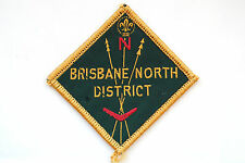 Australian Boy Scouts Patch Brisbane North District High Grade !!!!!