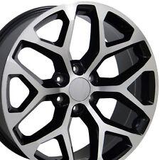 """20"""" Wheels for GMC Sierra Chevy Silverado Tahoe Yukon Snowflake Rims Set of 4"""