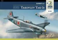 YAKOVLEV YAK-1 B (SOVIET POLISH FRENCH & LUFTWAFFE MKGS)#27 1/72 ARMA HOBBY