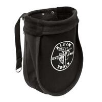 Klein Tools 51A Nut and Bolt Pouch, Black