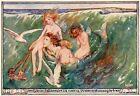 M. Dibdin Spooner THE FORSAKEN MERMAN 1929 vintage childrens storybook print
