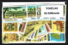 Tokelau 50 timbres différents