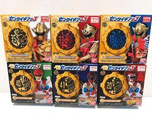 Kikai Sentai Zenkaiger SG SENTAI GEAR Vol.3 Set of 6 Bandai NEW DHL Ship F/S
