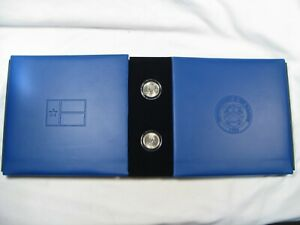 2003 Texas Coin & Currency Set STAR Note $2 Low Matching Serial #'s CU OGP.  #42