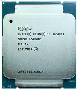 INTEL XEON E5 1650 V3 CPU  6C/12T 3.50Ghz to 3.8Ghz LGA2011-3 Processor