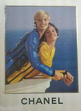 vintage CHANEL Catalog Lookbook 1991 S/S Linda Evangelista Christy Turlington