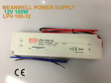 100W, 12V MEANWELL LED POWER SUPPLY LPV-100-12