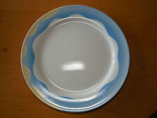 "Villeroy & Boch Luxembourg ADRIANA Set of 4 Large Dinner Plates 11 1/2"" Blue B"