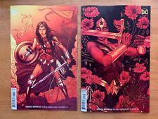 Wonder Woman 60 + 61 2018 Jenny Frison Variants DC Comics NM+
