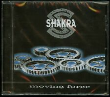 Shakra Moving Force CD new melodic hair metal