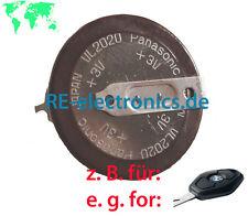 Schlüssel Fernbedienung defekt? => Akku VL2020 für div. BMW E39 E46 E53 X3 X5 Z4