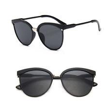 Vintage Women's Mirror Designer Flat Lens Sunglasses Retro Eye Glasses Eyewear