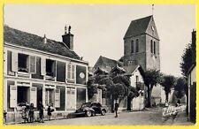 cpsm 78 - GALLUIS (Yvelines) Rue de l'EGLISE AUTOMOBILE VOITURE 4 Chevaux