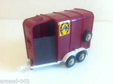 Britains - Beaufort double Horse box trailer (Remorque pour chevaux) 1979