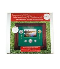 2004 Commemorative Golf Frame with Coins & Stamps: Canada Open Golf Championship