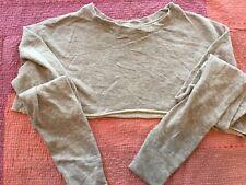 Emma & Sam, LF Store, Cropped Sweatshirt, New, Grey, XS