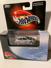 Hot Wheels 100%Ford Focus ZX3 *Silver*Real Riders