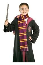 Harry Potter Gryffindor House Colours Lightweight Cosplay Scarf From Rubies