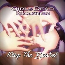Angel Beats! Girls Dead Monster/Keep The Beats! Anime Music CD Japan