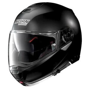 Motorcycle Helmet Modular NOLAN N100-5 Classic N-Com Flat Black 10 Size XXL