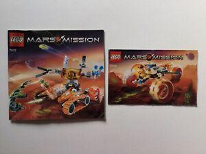 Lego Mars Mission MT-51 Claw Tank Ambush 7697 And MT-31 Trike 7694 Manuals