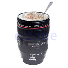 Lens Camera Lens Cup 24-105mm Travel Coffee Mug cup Thermos Tea 2017
