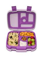 Bentgo Kids Childrens Lunch Box Bento-Styled Lunch Durable and Leak Proof Purple