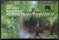 Australien Australia 2010 Eisenbahn Trains Railways Ungezähnt Markenheft 451B