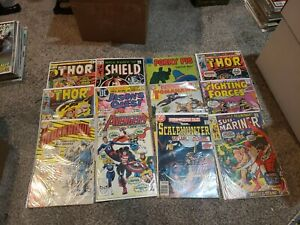 Silver bronze modern age spiderman comic book lot 50+ superman thor