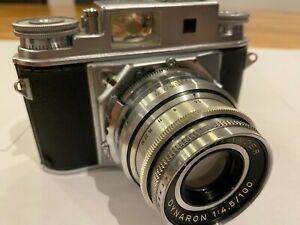 VOIGTLANDER Prominent II total functional and Dynaron 100mm F/4.5 Lens near MINT