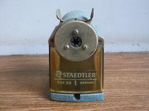 "Rare vintage ""STAEDTLER"" hand crank pencil sharpener of 50's made in Germany.."