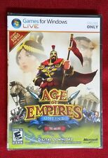 Age Of Empires Online THE GREEKS - Games For Windows PC - NEW & Sealed