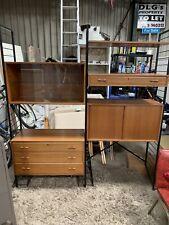More details for ladderax teak shelving 1960s
