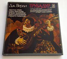 VERDI il trovatore   Karajan  Cappuccilli  3 LP Near Mint  Melodia
